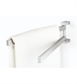 "ICO Z40380 17.5"" x 4.5"" Linea Towel Holder Swivelling in Stainless Steel"