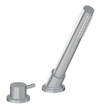 "Graff G-6156-LM41B M.E. 25 8 1/2"" Contemporary Deck Mounted Handshower and Diverter Set"