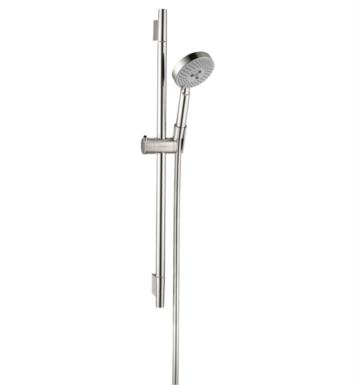 "Hansgrohe 04266000 Raindance Unica S 28 1/4"" Wallbar Set Handshower with QuickClean and AirPower Technologies With Finish: Chrome"