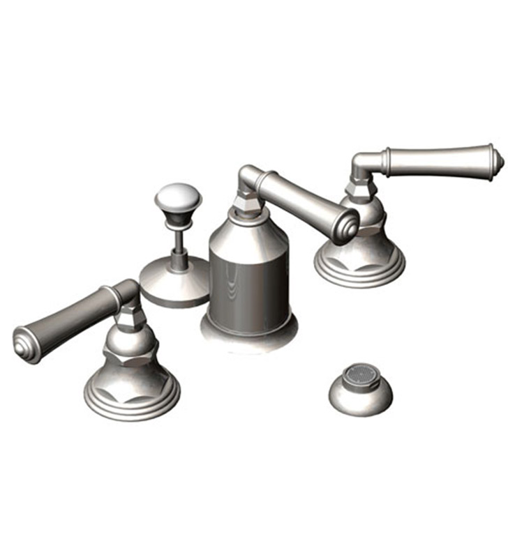 Rubinet 6CRVLOBOB Raven Bidet Fittings with Spray, Diverter with Built-In Vacuum Breaker & Pop-Up Assembly With Finish: Main Finish: Oil Rubbed Bronze | Accent Finish: Oil Rubbed Bronze
