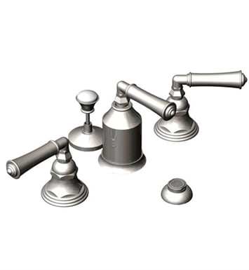 Rubinet 6CRVLOBNC Raven Bidet Fittings with Spray, Diverter with Built-In Vacuum Breaker & Pop-Up Assembly With Finish: Main Finish: Oil Rubbed Bronze | Accent Finish: Natural Cream