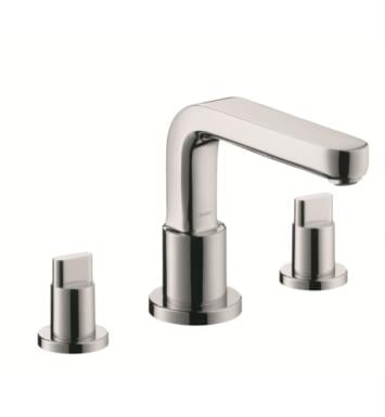 "Hansgrohe 31436001 Metris S 6 3/4"" Three Hole Widespread/Deck Mounted Roman Tub Set Trim with Full Handle With Finish: Chrome"
