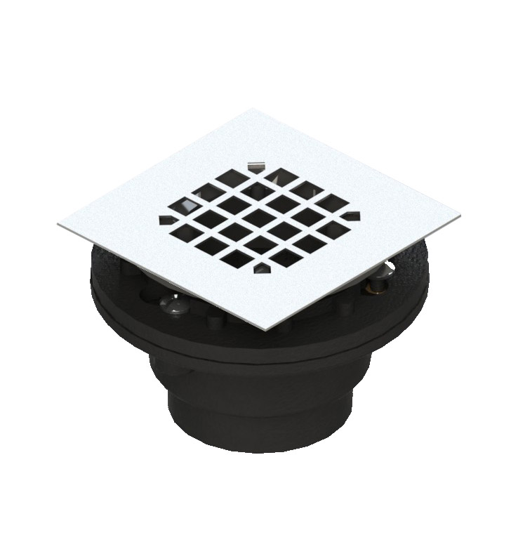 Rubinet 9FSD21 Shower Drain for concrete base