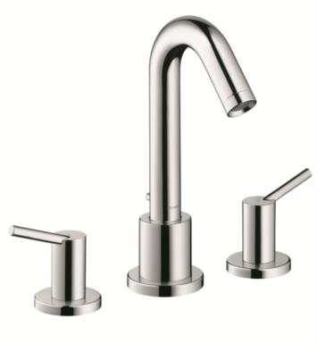 "Hansgrohe 32313821 Talis S 4 1/2"" Three Hole Widespread/Deck Mounted Roman Tub Set Trim with Lever Handle With Finish: Brushed Nickel"