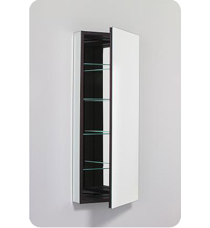"Robern PLM1640WBRE PL Series 15-1/4"" x 39-3/8"" Customizable Medicine Cabinet w/ Wide Flat Door With Cabinet Hinge: Right with Electric Option And Style and Color: White Interior And Mirror Type / Lens: Beveled"
