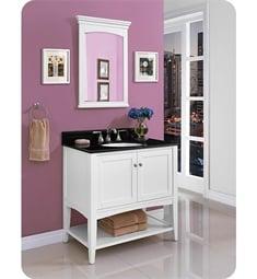 """Fairmont Designs 1512-VH36 Shaker Americana 36"""" Open Shelf Vanity in Polar White"""