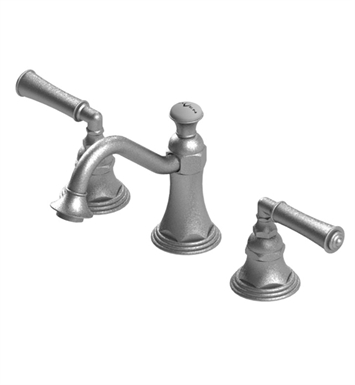 Rubinet 1ARVLOBCH Raven Widespread Lavatory Set with Pop-Up Assembly With Finish: Main Finish: Oil Rubbed Bronze | Accent Finish: Chrome