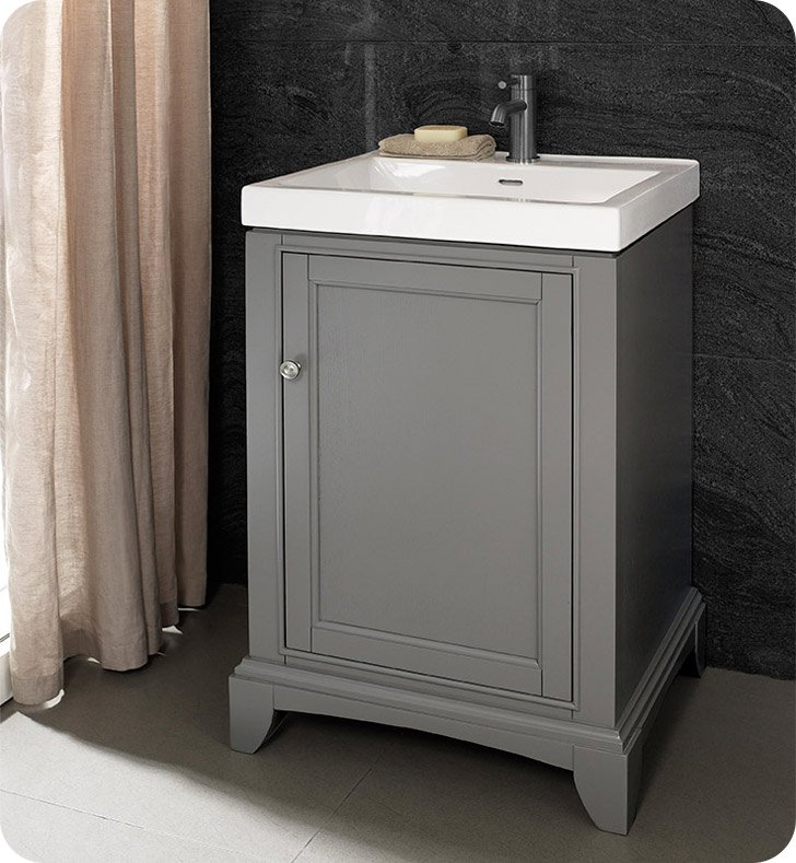 21 Inch Bathroom Vanity | Fairmont Designs 1504 V2118 Smithfield 21 X 18 Inch Vanity In Medium