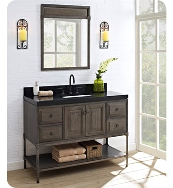 Fairmont Designs 1401 48 Toledo 48 Inch Traditional Bathroom Vanity In A  Grey Finish