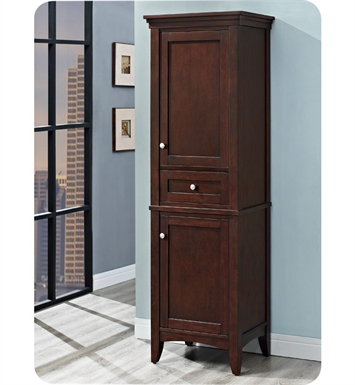 "Fairmont Designs 1513-HT2118_V2118 Shaker Americana 21"" Linen Tower in Habana Cherry"