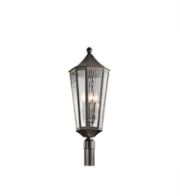 Kichler 49516OZ Rochdale 4 Light Incandescent Outdoor Post Mount Lantern in Olde Bronze