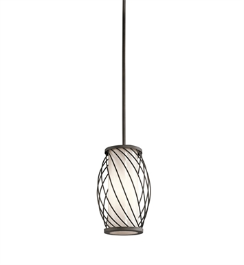 Kichler 42280OZ Mini Pendant 1 Light in Olde Bronze