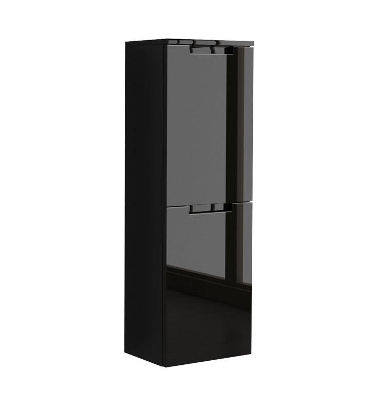 "LaToscana OACO-24 Oasi 41 5/8"" Wall Mount Linen Tower with Two Doors and Right Side Hinges"