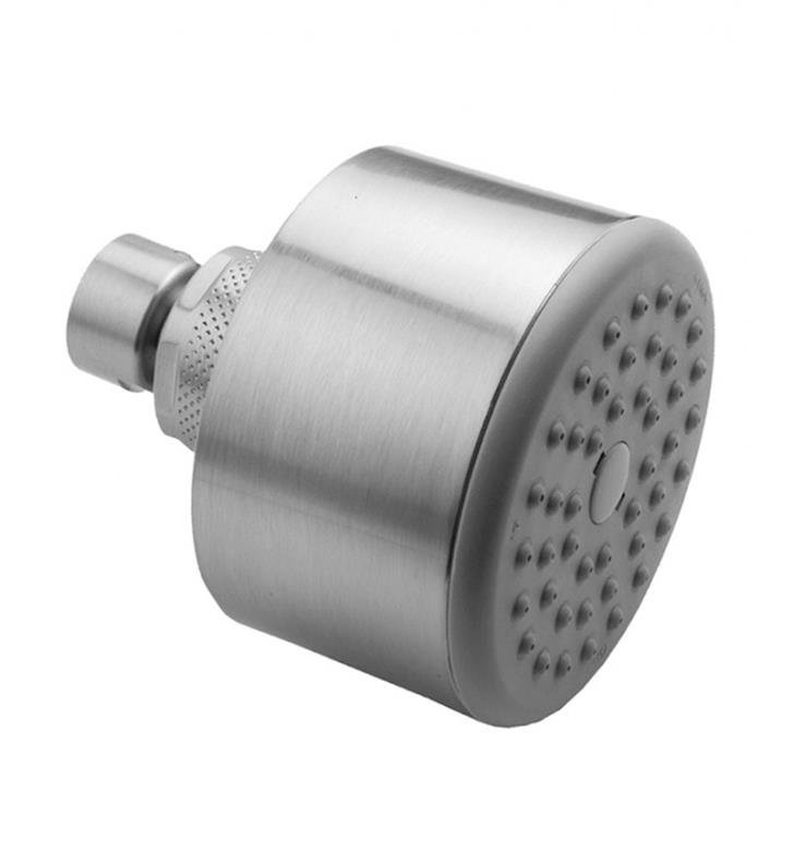 "Jaclo S161-PCH Cylindrico 3"" Wall/Ceiling Mount Single-Function Showerhead With Finish: Polished Chrome And Flow Rate: 2.5 GMP"
