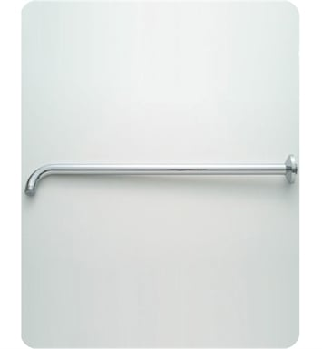 Jaclo 8048-SC Decorative 90° Showerarm with Escutcheon With Finish: Satin Chrome