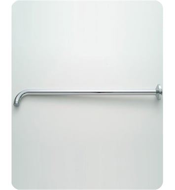 Jaclo 8046-PCH Decorative 90° Showerarm with Escutcheon With Finish: Polished Chrome