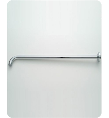 Jaclo 8046-WH Decorative 90° Showerarm with Escutcheon With Finish: White