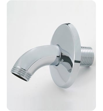 Jaclo 8025-SB Classic Style Showerarm with Escutcheon With Finish: Satin Brass