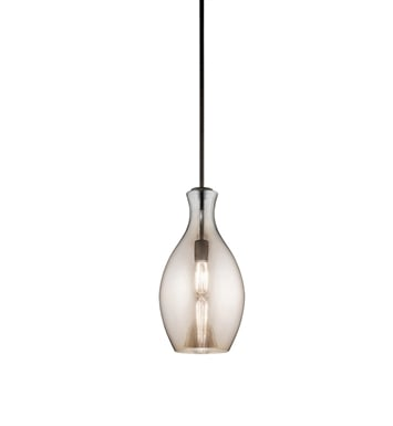 Kichler 42047OZCP Everly Collection Pendant 1 Light in Olde Bronze