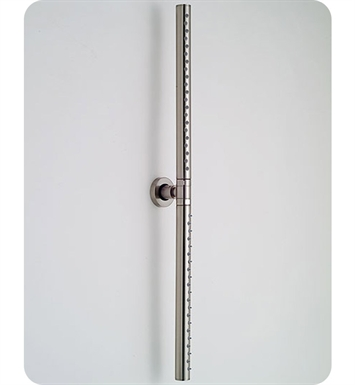 Jaclo R028-TB Decorative Rain Bar With Finish: Tristan Brass