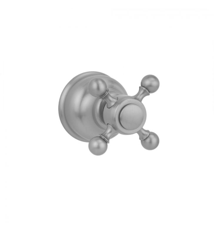 "Jaclo T634-TRIM-PN Jaylen 2 1/4"" Ball Cross Trim for Exacto Volume Controls and Diverters With Finish-JACLO: Polished Nickel"