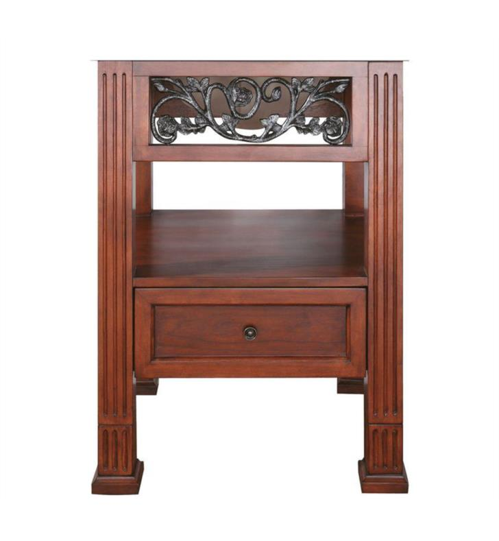 "Avanity NAPA-V24-DC Napa 24"" Dark Cherry Antique Bathroom Vanity"