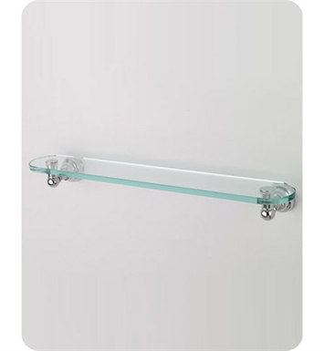 Jaclo 4840-GS-24-TB Jaylen Glass Shelf With Finish: Tristan Brass
