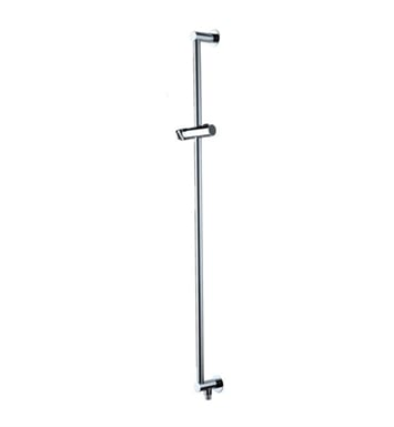 Jaclo 8524-PEW Deluxe Adjustable Height and Angle Wall Bar With Finish: Pewter