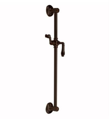 "Jaclo 7424-SB 26 3/4"" Retro Traditional Wall Bar with Roaring 20's Lever Handle With Finish: Satin Brass"