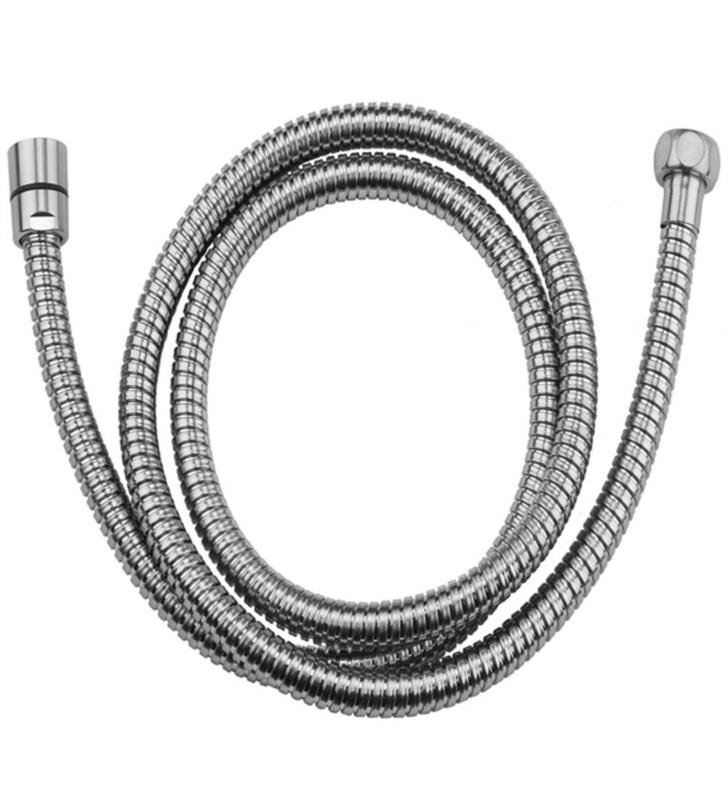"Jaclo 3060-DS-SC 60"" Double Spiral Hose for Handshower With Finish: Satin Chrome"