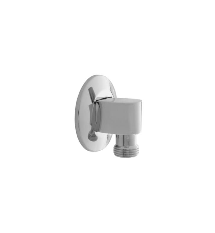 "Jaclo 6001-PG 2 1/2"" Contemporary 90 Degree Water Supply Elbow with Escutcheon With Finish: Polished Gold"