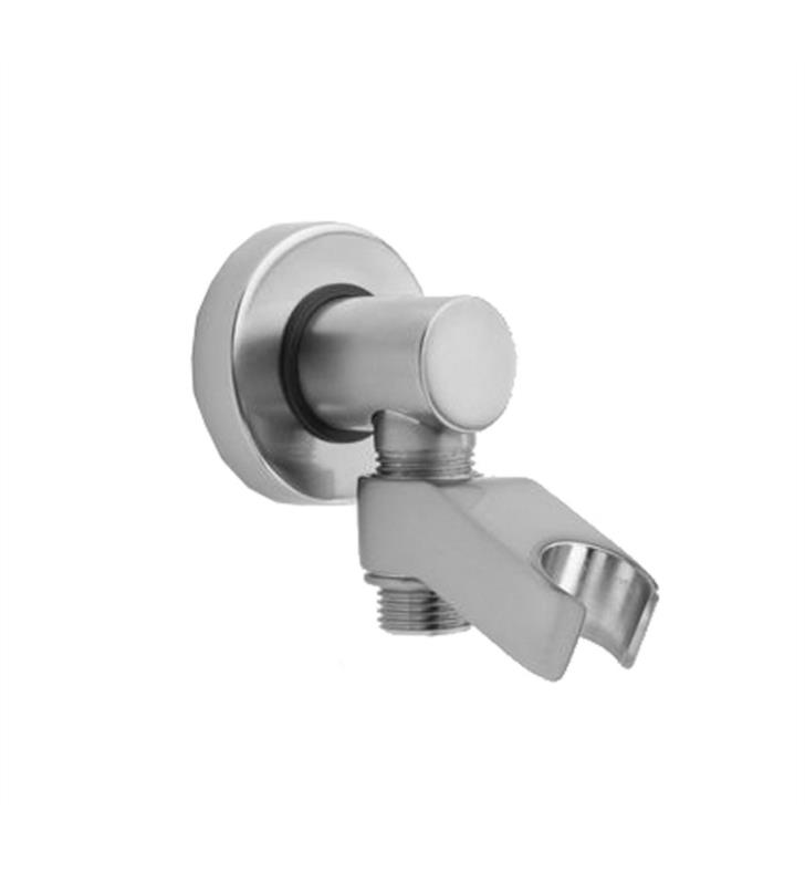 "Jaclo 6486-SN 3"" Contemporary Water Supply Elbow with Handshower Holder With Finish: Satin Nickel"