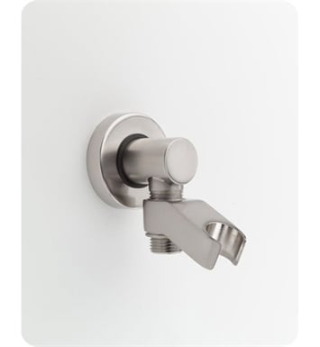 Jaclo 6486-SN Water Supply Elbow with Handshower Holder With Finish: Satin Nickel