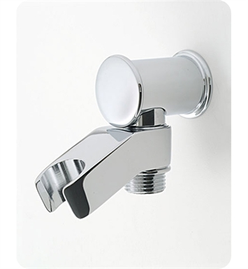 Jaclo 6418-PB Water supply elbow with handshower holder With Finish: Polished Brass