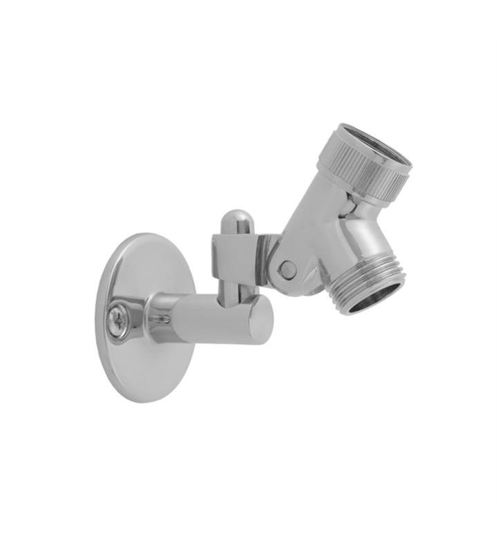 "Jaclo 8034-PCH 1 7/8"" Pin Wall Mount Bracket with Swivel Base With Finish: Polished Chrome"
