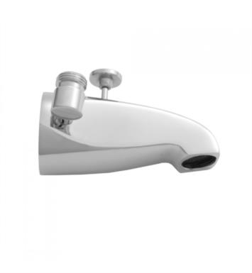 "Jaclo 2009-SC 5"" Wall Mount Brass Diverter Tub Spout with Handshower Outlet With Finish: Satin Chrome"