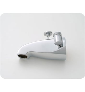 Jaclo 2009-MBK Decorative Tub Spout with Diverter & Handshower Outlet With Finish: Matte Black