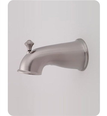 Jaclo 2041-PCH Decorative Victorian Tub Spout with Diverter With Finish: Polished Chrome