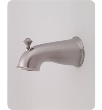 Jaclo 2041-SN Decorative Victorian Tub Spout with Diverter With Finish: Satin Nickel