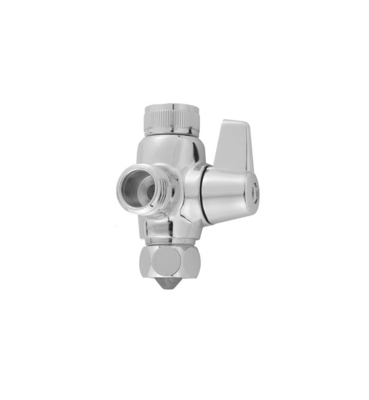 "Jaclo 2001-SB 2"" Brass Diverter Valve With Finish: Satin Brass"