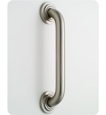 Jaclo 2624-ACU Deluxe Grab Bar with Contemporary Round Flange With Finish: Antique Copper