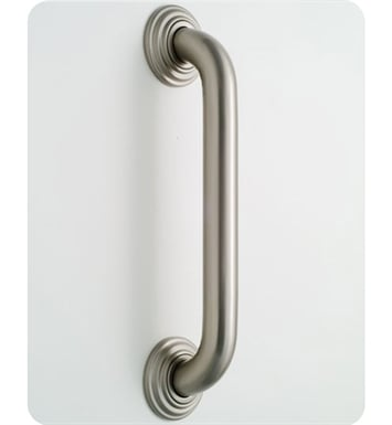 Jaclo 2532-SN Deluxe Grab Bar with Traditional Round Flange With Finish: Satin Nickel