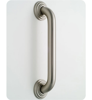 Jaclo 2642-TB 2636 Deluxe Grab Bar with Contemporary Round Flange With Finish: Tristan Brass