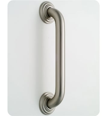Jaclo 2642-PCU 2636 Deluxe Grab Bar with Contemporary Round Flange With Finish: Polished Copper