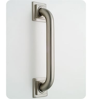 Jaclo 2748-SG Deluxe Grab Bar with Contemporary Square Flange With Finish: Satin Gold