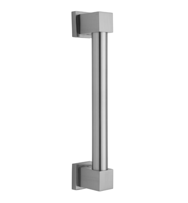 "Jaclo 4316-SC Cubix 16"" Wall Mount Grab Bar With Finish: Satin Chrome"