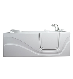 "Ella 30600 Lay Down Gel Coat 60"" Walk In Bathtub"