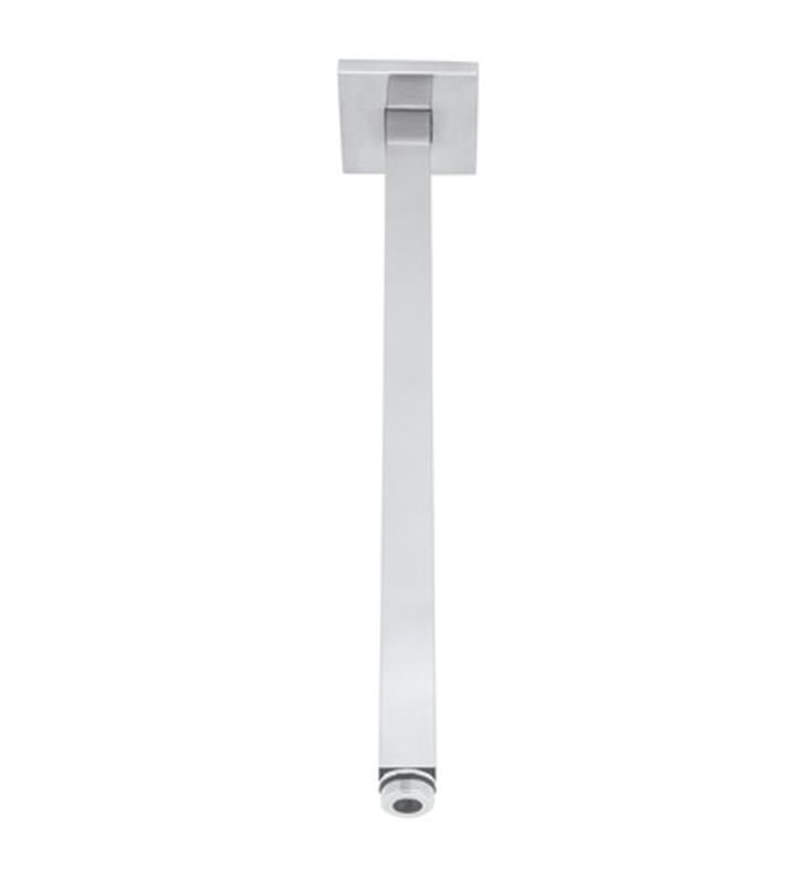 "Rohl 1510-16 12 3/8"" Modern Square Ceiling Mount Shower Arm"