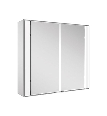 Keuco 22101171351 Royal 60 Surface Mount Mirror Cabinet with Silver Anodized Body Finish