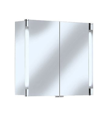 Keuco 13802171352 Royal T2 Mirror Cabinet with Silver Anodized Body Finish and Two Interior Drawers